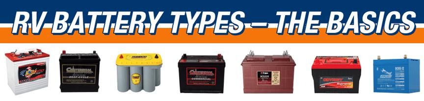 RV Battery Types