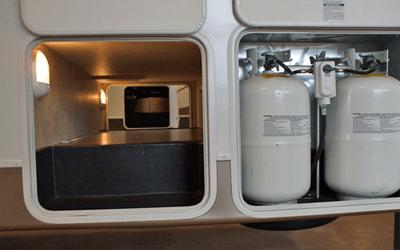 Liquid propane RV generator