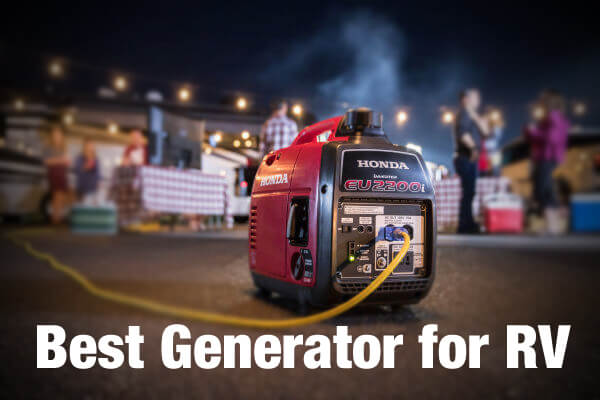 Best RV Generator Reviews - Portable Generator Travel