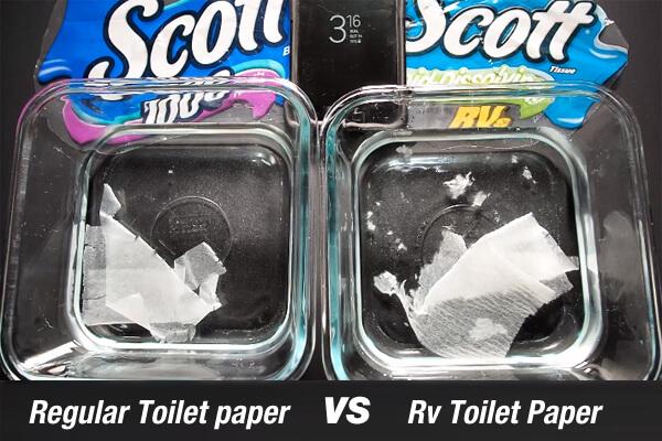 RV Toilet Paper Vs Regular