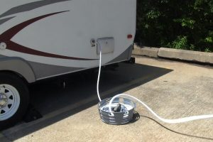 RV Water Hose Reel