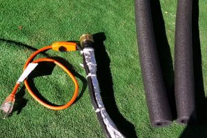 rv water hose with heat tape