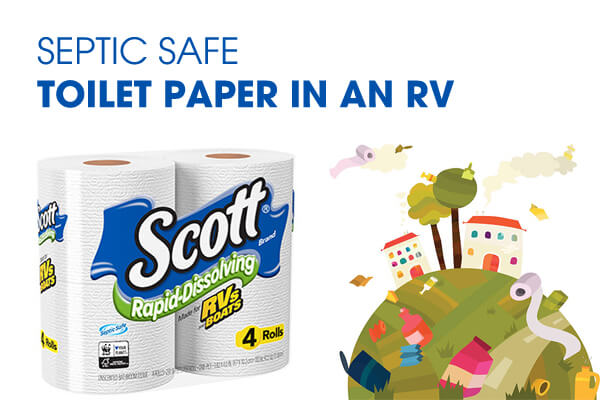 septic safe Toilet Paper in an RV