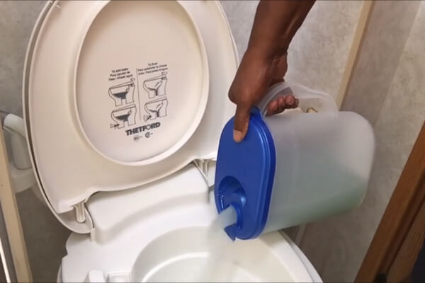Can You Put RV Toilet Chemicals In Toilet Before Unwinterizing It
