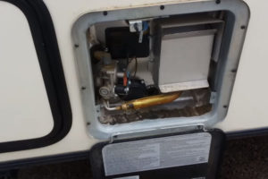 hot water heater in rv
