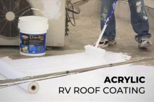 Acrylic RV Roof Coating