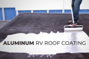 Aluminum RV Roof Coating