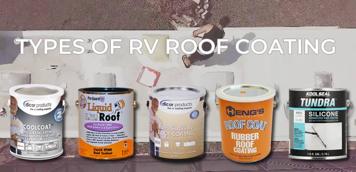 Types of RV roof coating