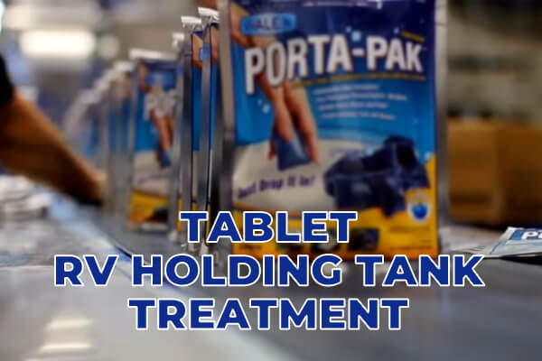 Tablet RV Holding Tank Treatment