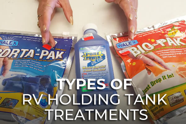Types of RV Holding Tank Treatments