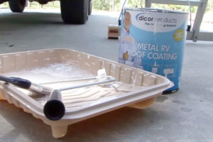 metal rv roof coating