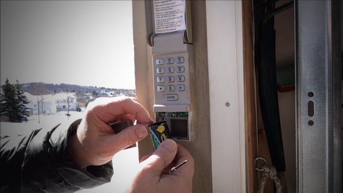 Replace a Garage Door Opener Keypad Battery