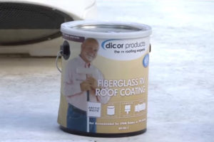 rv fiberglass roof sealant