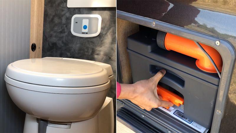 RV Cassette Toilet