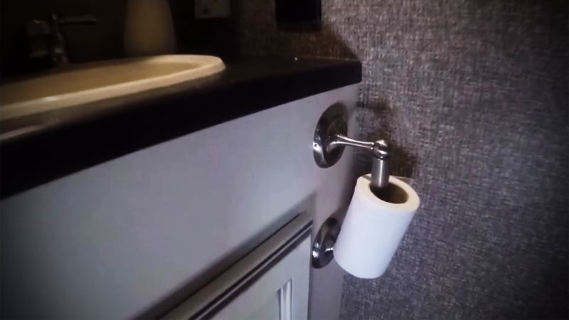RV Toilet Paper Holder