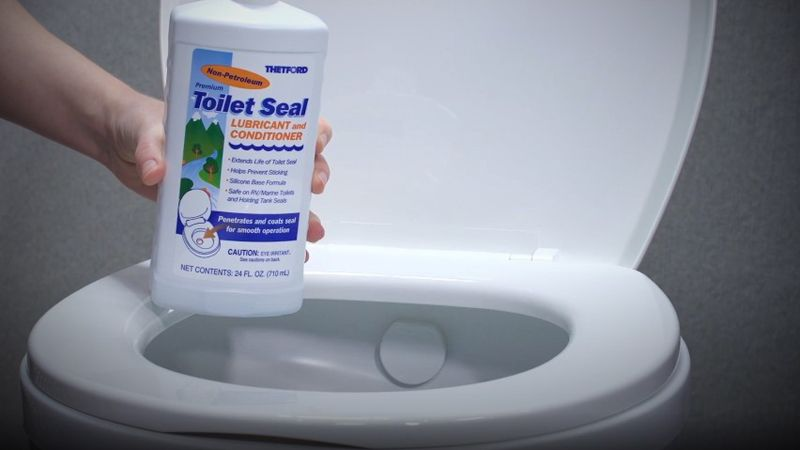 RV Toilet Seal Lubricant