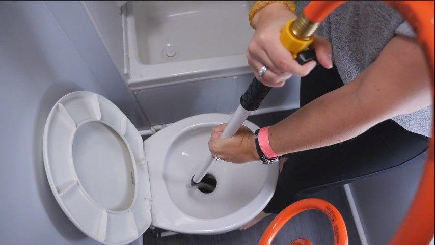 RV Toilet Wand