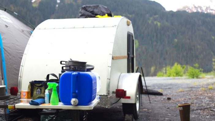 rv cleaning dishwashing supplies