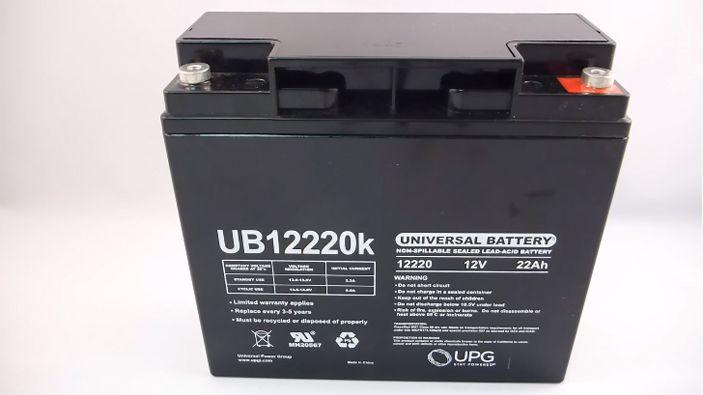 12V 22Ah SLA Battery