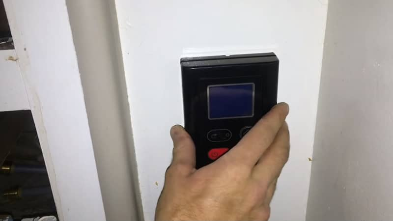 install screen panel tankless rv water heater
