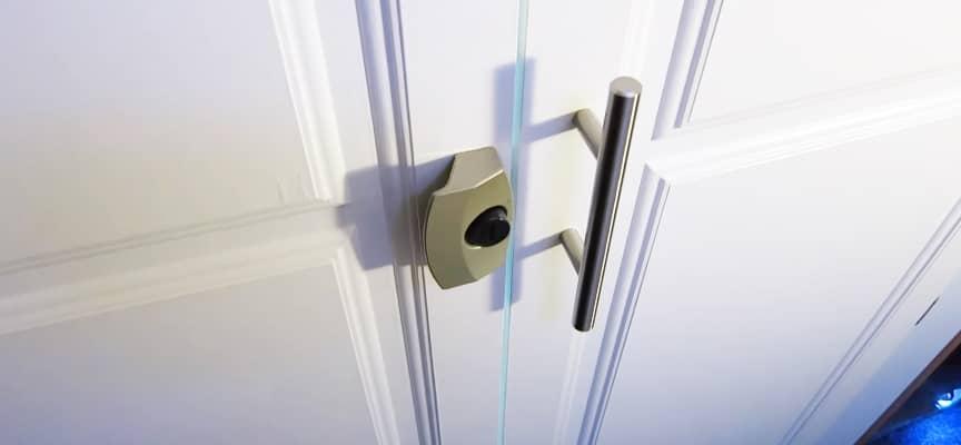 RV Bathroom Door Lock