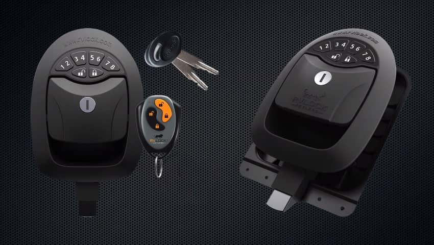 RV Door Lock with Keypad