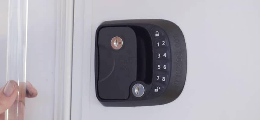 RV Door Lock Upgrade