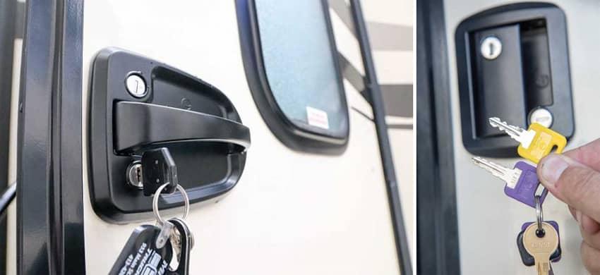 RV Door Locks Keyed Alike