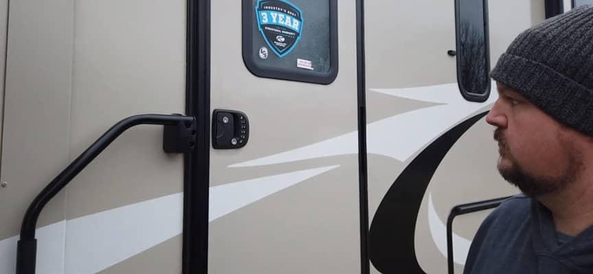 RV Entrance Door Locks